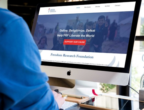 Freedom Research Foundation Desktop Design